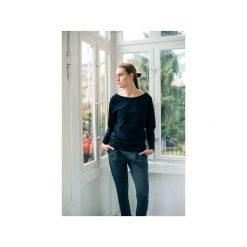 MINIMAL BLACK Bluzka Oversize. Czarne bluzki oversize marki Gau great as you, l, z bawełny. Za 149,00 zł.