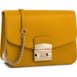 Torebka FURLA - Metropolis 978090 B BNF8 ARE Ginestra e. Żółte torebki klasyczne damskie Furla, ze skóry. W wyprzedaży za 1079,00 zł.