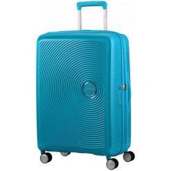 American Tourister Walizka Soundbox 67, Summer Blue. Niebieskie walizki marki American Tourister. W wyprzedaży za 549,00 zł.