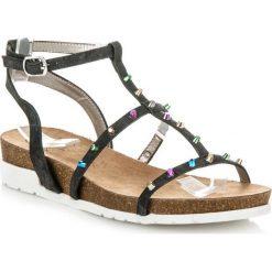 Sandały Dolores czarne. Białe sandały damskie marki KYLIE. Za 89,90 zł.