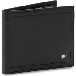 Duży Portfel Męski TOMMY HILFIGER - Harry Mini CC Wallet AM0AM01256  002. Czarne portfele męskie TOMMY HILFIGER, ze skóry. Za 229,00 zł.