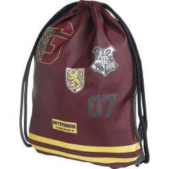 Harry Potter Gryffindor Torba treningowa czerwony/żółty. Czerwone torebki klasyczne damskie Harry Potter, z nadrukiem, z nadrukiem. Za 62,90 zł.