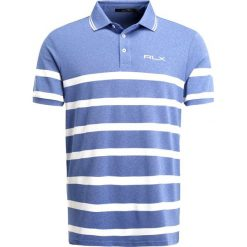 Polo Ralph Lauren Golf TECH PROFIT Koszulka polo maidstone blue heather. Niebieskie koszulki polo marki Polo Ralph Lauren Golf, m, z elastanu. W wyprzedaży za 285,35 zł.