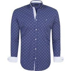 """Koszule męskie na spinki: Koszula """"Lanark"""" w kolorze niebieskim"""