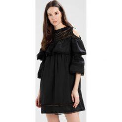 Sukienki hiszpanki: Navy London DANI Sukienka letnia black
