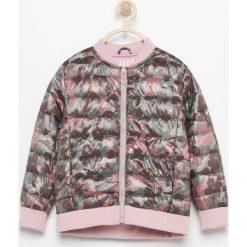 Odzież dziecięca: Pikowana kurtka ze stójką - Zielony