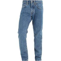 Edwin ED55 Jeansy Straight Leg heavy stone. Niebieskie jeansy męskie regular Edwin. W wyprzedaży za 419,50 zł.