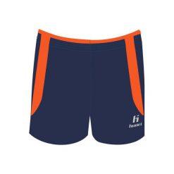 Spodenki sportowe męskie: Huari Szorty Anfield Short Medieval BLUE/RED ORANGE r. XXL