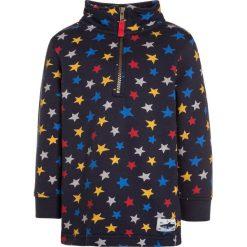 Frugi HALF ZIP Bluza dark blue. Niebieskie bluzy dziewczęce marki Frugi, z bawełny. W wyprzedaży za 151,20 zł.