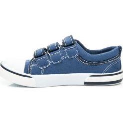 Chłopięce trampki ELLA. Niebieskie buty sportowe chłopięce HASBY, sportowe. Za 39,95 zł.