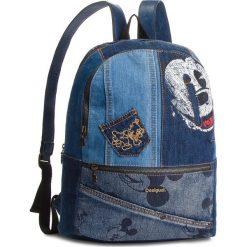 Plecak DESIGUAL - 18WAXD06 Granatowy. Niebieskie plecaki męskie Desigual, z materiału. W wyprzedaży za 279,00 zł.
