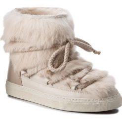 Buty INUIKII - Sneaker Rabbit 70202-9 Sandshell. Brązowe buty zimowe damskie Inuikii, z futra. Za 1409,00 zł.