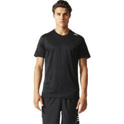 Adidas Koszulka męska Response SS Tee  czarny r. M (AA6910). Czarne koszulki sportowe męskie Adidas, m. Za 81,00 zł.