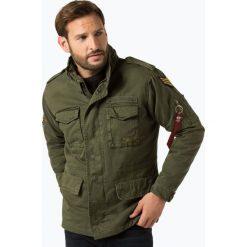 Alpha Industries - Kurtka męska, zielony. Czarne kurtki męskie marki Alpha Industries, m, z aplikacjami. Za 749,95 zł.