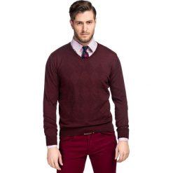 Sweter DARIO SWT000057. Niebieskie swetry klasyczne męskie marki Giacomo Conti, m, z tkaniny, klasyczne. Za 229,00 zł.