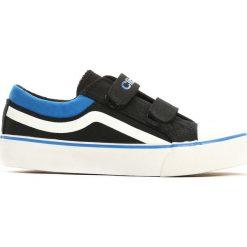 Czarne Trampki Motley Rim. Czarne buty sportowe chłopięce marki Born2be, z materiału, z okrągłym noskiem. Za 39,99 zł.