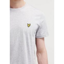 T-shirty męskie: Lyle & Scott CREW NECK Tshirt basic light grey marl