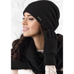 Czapka damska Frascati. Czarne czapki zimowe damskie Astratex, na zimę, z dzianiny. Za 78,99 zł.