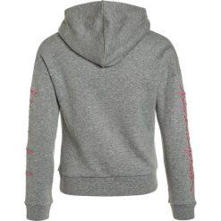 LMTD NLFNASHA HOOD Bluza z kapturem grey melange. Szare bluzy dziewczęce rozpinane LMTD, z bawełny, z kapturem. Za 139,00 zł.