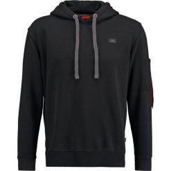 Bejsbolówki męskie: Alpha Industries XFIT HOODY Bluza z kapturem black