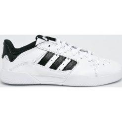 Adidas Originals - Buty VRX Low. Szare buty skate męskie adidas Originals, z gumy, na sznurówki. W wyprzedaży za 279,90 zł.