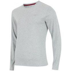 4F Koszulka Z Długim Rękawem H4Z17 tsml001 Jasny Szary Melanż S. Szare koszulki sportowe męskie marki 4f, m, z bawełny, z długim rękawem. W wyprzedaży za 42,00 zł.