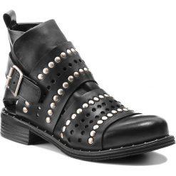 Botki EVA MINGE - Lucena 3F 18JS1372350ES 101. Czarne buty zimowe damskie Eva Minge, ze skóry. W wyprzedaży za 349,00 zł.