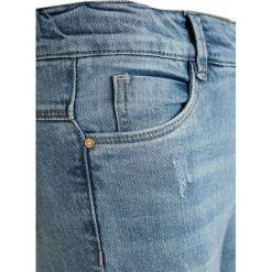 Name it NKFPOLLY 7/8 PANT Jeansy Slim Fit medium blue denim. Niebieskie jeansy chłopięce Name it. Za 129,00 zł.