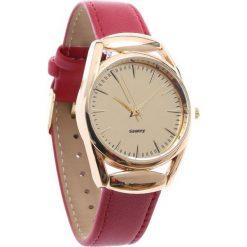 Czerwony Zegarek Tension. Czerwone zegarki damskie Born2be. Za 29,99 zł.