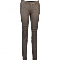"""Dżinsy """"Jasmin"""" - Slim fit - w kolorze brązowym. Niebieskie jeansy damskie relaxed fit marki Mustang, z aplikacjami, z bawełny. W wyprzedaży za 217,95 zł."""