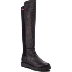 Muszkieterki TOMMY JEANS - Sock Tommy Jeans Boo EN0EN00382 Black 990. Czarne buty zimowe damskie Tommy Jeans, z jeansu, przed kolano, na wysokim obcasie. Za 799,00 zł.
