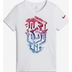 Bluzki damskie: Nike Koszulka damska G NSW Tee JDI POP Mezzo biała r. M  (862682 100)