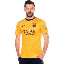 Nike Koszulka męska FC Barcelona Away Supporters żółta r. XXL (658770 740). Żółte koszulki sportowe męskie marki Nike, m. Za 91,58 zł.