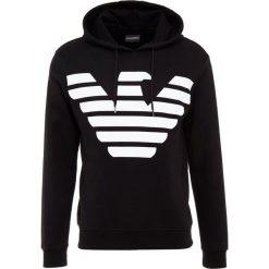 Emporio Armani Bluza z kapturem black. Szare bluzy męskie rozpinane marki Emporio Armani, l, z bawełny, z kapturem. Za 629,00 zł.