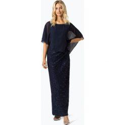 Swing - Damska sukienka wieczorowa, niebieski. Niebieskie sukienki koktajlowe marki Swing, w koronkowe wzory, z koronki. Za 799,95 zł.