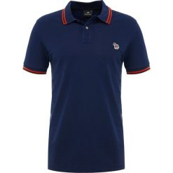 PS by Paul Smith SLIM FIT Koszulka polo navy. Niebieskie koszulki polo PS by Paul Smith, m, z bawełny. Za 379,00 zł.