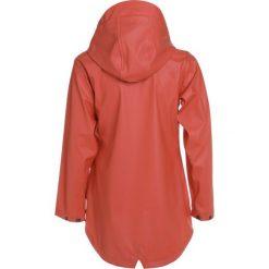 Didriksons TIA GIRLS GALON JACKET Kurtka przeciwdeszczowa orange. Brązowe kurtki chłopięce przeciwdeszczowe marki Reserved, l, z kapturem. Za 299,00 zł.