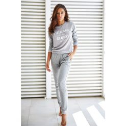Bielizna nocna: Damska piżama Lungo Dynamic szara