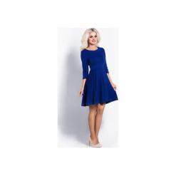 Chabrowa sukienka koktajlowa crocus. Niebieskie sukienki na komunię Cocoviu, na spotkanie biznesowe, m, rozkloszowane. Za 169,00 zł.