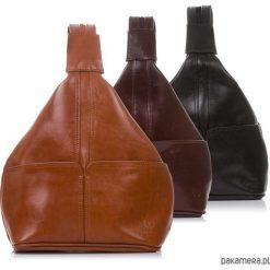 Plecaki damskie: Skórzany plecak damski Paolo Peruzzi Z-110