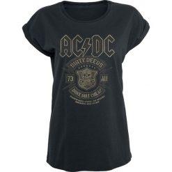 AC/DC Done Cheap Koszulka damska czarny. Czarne bluzki damskie AC/DC, l. Za 79,90 zł.