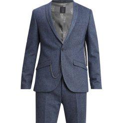 Shelby & Sons DUNFERMLINE SUIT SLIM FIT Garnitur blue. Niebieskie garnitury Shelby & Sons, z materiału. Za 839,00 zł.