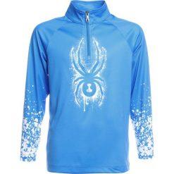 Spyder LIMITLESS ZIP DRY Koszulka sportowa french blue/split. Niebieskie t-shirty dziewczęce Spyder, z materiału. W wyprzedaży za 161,40 zł.