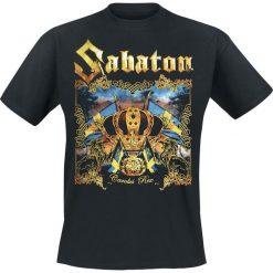 T-shirty męskie z nadrukiem: Sabaton Carolus rex T-Shirt czarny