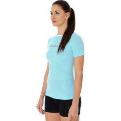 Bluzki asymetryczne: Brubeck Koszulka damska  3D Run Pro  błękitna r. XL (SS12030)
