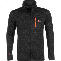 Kurtka polarowa w kolorze czarnym. Czarne kurtki męskie marki Peak Mountain, m, z dzianiny. W wyprzedaży za 150,95 zł.