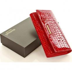 MONNARI Ekskluzywny portfel skórzany damski  czerwony. Czerwone portfele damskie Monnari, ze skóry. Za 149,00 zł.