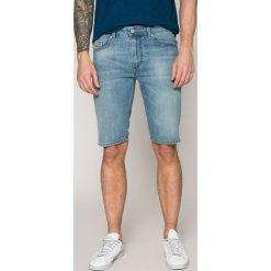 Diesel - Szorty. Szare spodenki jeansowe męskie marki Diesel, casualowe. W wyprzedaży za 319,90 zł.