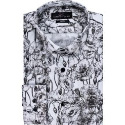 Koszula SIMONE KDWS000141. Czarne koszule męskie na spinki marki Giacomo Conti, m, z bawełny, z klasycznym kołnierzykiem. Za 199,00 zł.