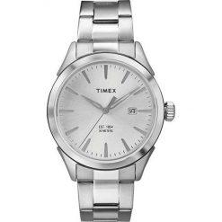 Zegarek Timex Męski  TW2P77200 srebrny. Szare zegarki męskie Timex, srebrne. Za 233,99 zł.